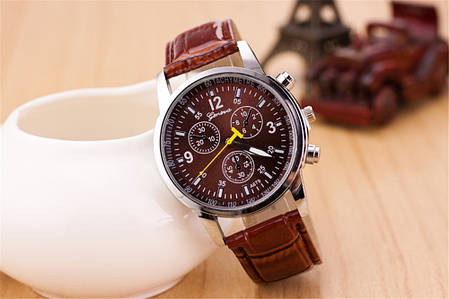 Кварцевые наручные часы Infinito Chocolat, фото 2