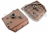 """Крышка блока двигателя на мотоблок с двигателем   195N   (12Hp)   """"DIGGER""""   (mod:A)"""