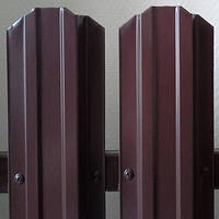 Штакетник металлический RAL 8017 (0,40 - 0,43 мм)