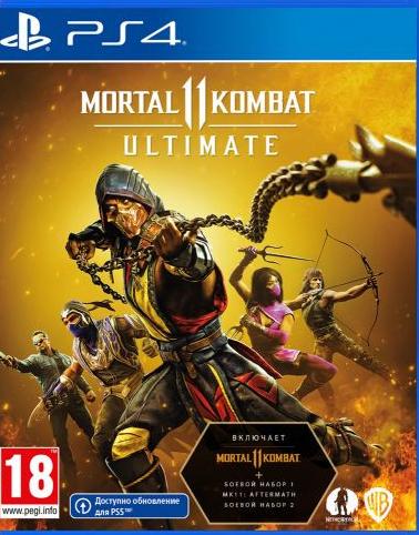 Mortal Kombat 11 Ultimate (російські субтитри) PS4