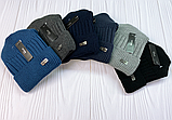 М.93079 шапка мужская  с отворотом, размер 54-58, фото 6