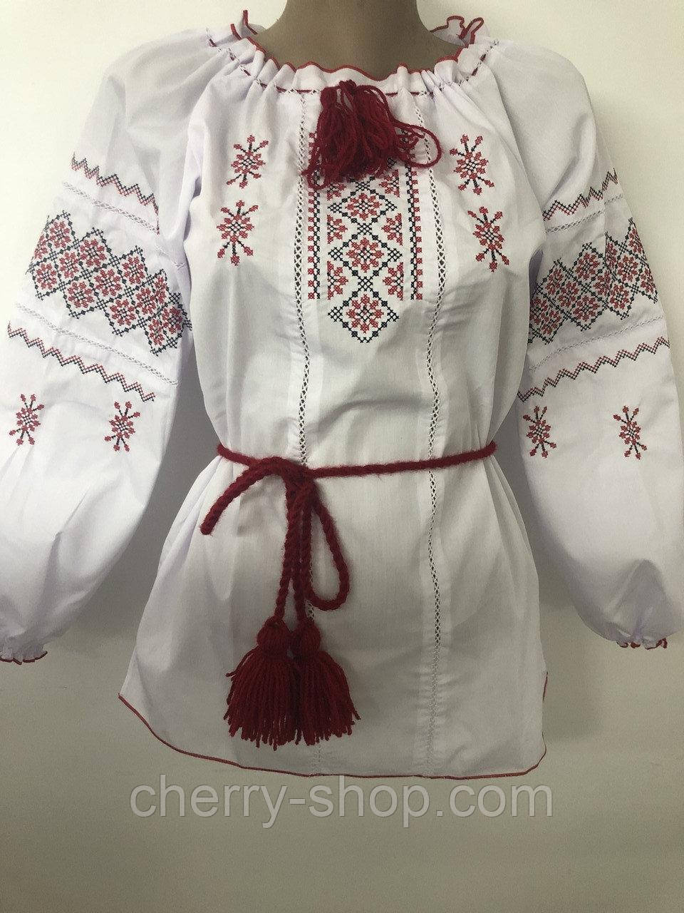 Дуже красива дитяча блуза вишиванка , зростання 134-170