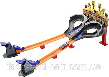 Трек Хот Вилс Безумные гонки Hot Wheels Race Super Speed Blastway Dual Track Racing Оригинал