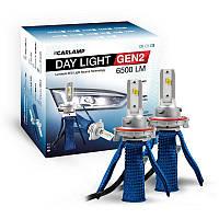 Світлодіодні автолампи H13 CARLAMP Day Light GEN2 Led для авто 6500Lm 6000K (DLGH13), фото 1
