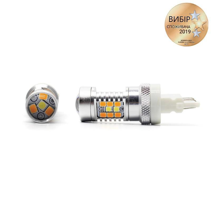 Светодиодные автолампы Carlamp 4G-Series P27/7W T25 6000К 1500Лм (4G/3157W-Y)