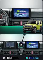 Штатна Android Магнітола на Suzuki Jimny 2018-2020 Model 4G-solution (М-СЖн-9-4Ж)