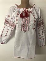Дуже красива дитяча блуза вишиванка , зростання 134-170, дитяча блуза з вишивкою у хрестик