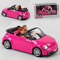 """Лялька з машинкою 6633 C """"Автомобільну подорож"""", світло, звук, 2 ляльки, машина."""