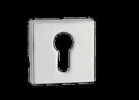 Накладка дверная под цилиндр E1 CP (полированный хром)