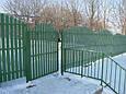 Ворота и Калитки из металлического штакетника: изготовление, доставка, установка, фото 4