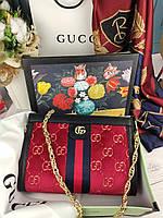 Модная женская сумка Gucci Гуччи в коробке