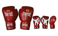Перчатки боксерские PVC ЮНИОР MATSA 4 6 8 10 12