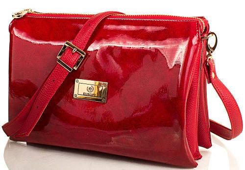Великолепная сумочка-клатч женская Europe Mob, em3-004, красная