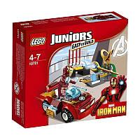 Lego Juniors Железный человек против Локи 10721