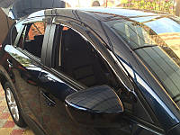Ветровики Seat Ibiza IV Hb 5d 2009 деф.окон. Дефлекторы боковые