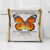 Складная корзина для хранения All is brigth butterfly (KOR_21S042)