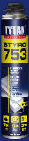 Клей-пена полиуретановая Titan Styro (Титан Стиро) 753 750 мл.
