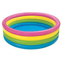 "Надувний дитячий басейн ""Веселка"" Intex 56441"