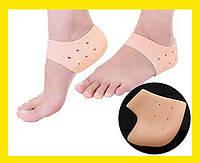 Силиконовые вкладыши в обувь для защиты стоп Heel anti-crack set.