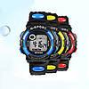Спортивные электронные наручные часы с секундомером, будильником и подсветкой S-Sport Red (∅40 мм), фото 6