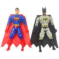 Фігурки супергероїв 663A-2-B-2 музичні (Бетмен і Супермен)