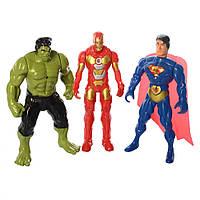 Фігурки для гри 899-31/32/33K (Супермен, Халк і Залізна Людина)