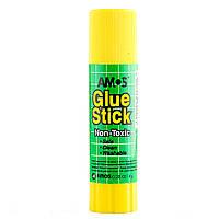 Клей-карандаш на PVP основе, 8 г, Amos, Am-3208