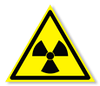 Предупреждающий знак «Опасно. Радиоактивные вещества или ионизирующее излучение».