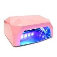 Лампа гібридна Diamond 36w (12W CCFL + 24W LED) ніжно-рожева