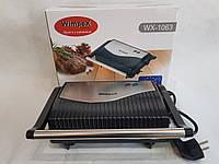 Контактний гриль, Міні-гриль WimpeX WX-1063 (750 Вт) гриль прижимний, сэндвичница