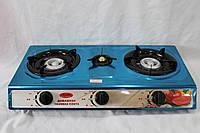 Газова плита таганок Wimpex на 3 конфорки WX-1103
