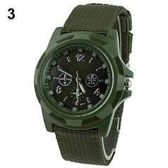 Чоловічі кварцові наручні годинники Military Green