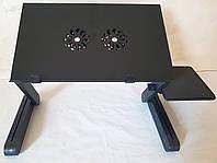 Столик трансформер для ноутбука T8 с подставкой для мышки