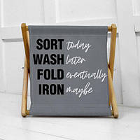 Складная корзина для хранения Sort wash fold iron (KOR_21S030)