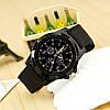 Мужские кварцевые наручные часы  Military Black, фото 4