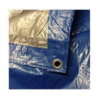 Тент 4*5 кв.м тарпаулиновый с металлическими люверсами 90gm2.
