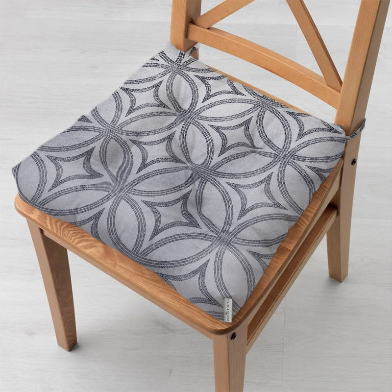 Подушка на стілець 40x40 см Абстрацкия TT032659-ps