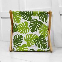 Складная корзина для хранения Тропические листья (KOR_21S026)