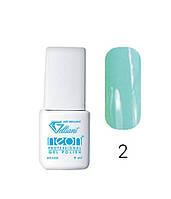 Трехфазный гель - лак Neon Collection Velena Gelliant 9 мл №002 Летний океан