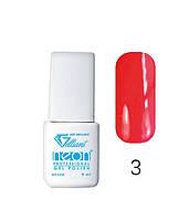 Трехфазный гель - лак Neon Collection Velena Gelliant 9 мл №003 Гранат