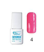 Трехфазный гель - лак Neon Collection Velena Gelliant 9 мл №004 Фламинго