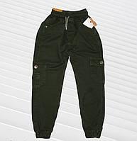 Джоггеры утепленные для мальчика с карманами Размеры 122 128 134 140 146, фото 1