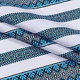 Скатертина вишита блакитна TT94495 150x180, фото 2