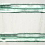 Скатерть вышитая зеленая лен TT119403    90x150, фото 4