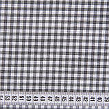 Скатерть Клетка Серая 0,4 см TT106646    100x140, фото 4
