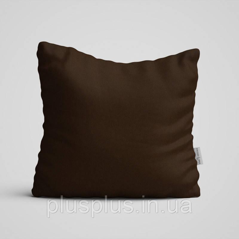 Декоративная подушка на диван Time Textile Kanzas Brown TT129338