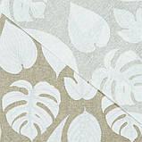 Скатерть с акриловой пропиткой Fibratex White Leaves TT164640    100x140, фото 4