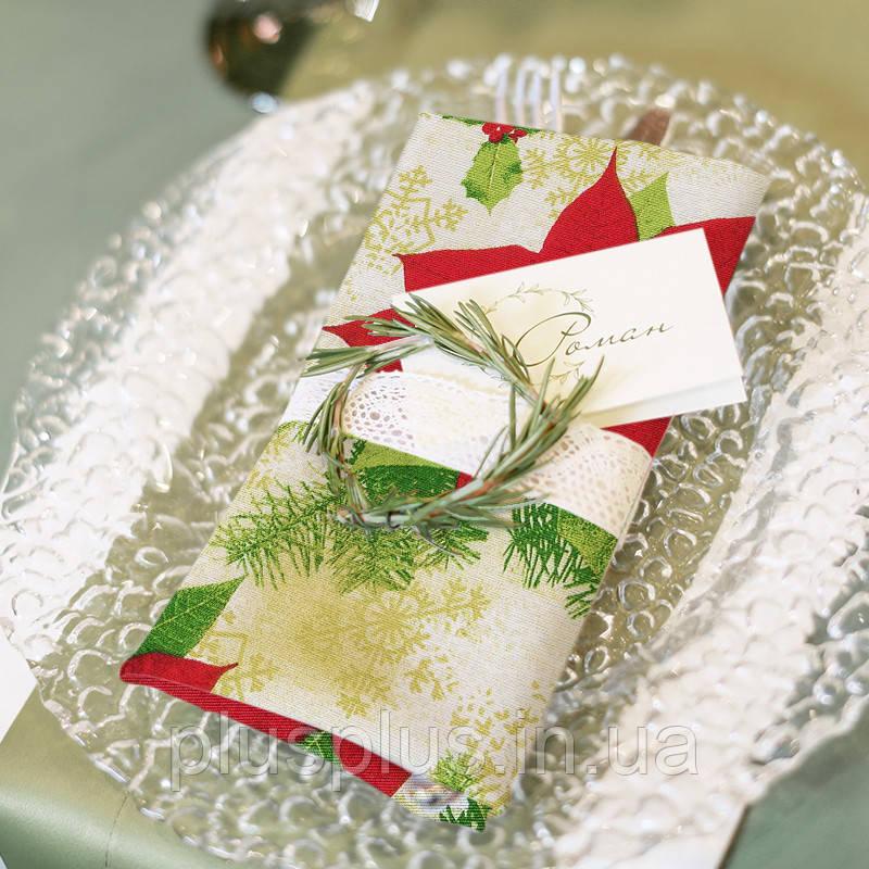 Салфетка Time Textile Christmas Flower 35х35 см TT143273-s35