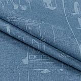 Скатерть с акриловой пропиткой Leonardo Blue TT152681    100x140, фото 3