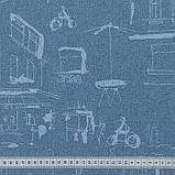 Скатерть с акриловой пропиткой Leonardo Blue TT152681    100x140, фото 4